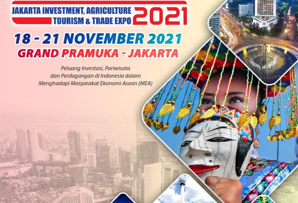 JAKARTA INVESTMENT AGRICULTURE TOURISM AND TRADE EXPO 2021 (JIATTEX EXPO 2021 ke-5)