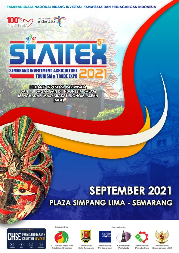 SEMARANG INVESTMENT AGRICULTURE TOURISM AND TRADE EXPO 2021 (SIATTEX EXPO 2021 ke-5)