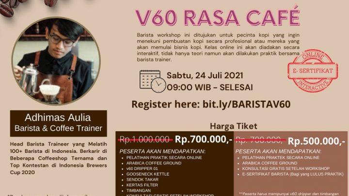 Workshop Barista Series