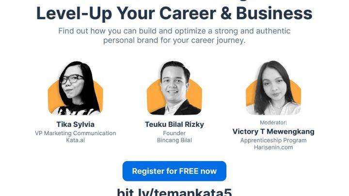 Webinar Personal Branding: Level-Up Your Career & Business