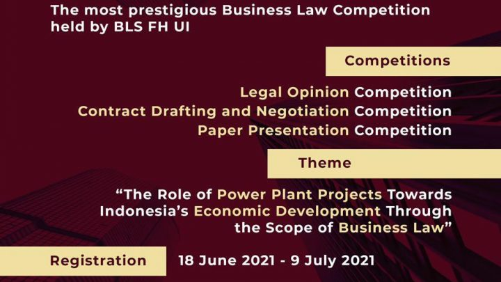 """The 11th Business Law Competition 2021 (""""BLC"""")"""