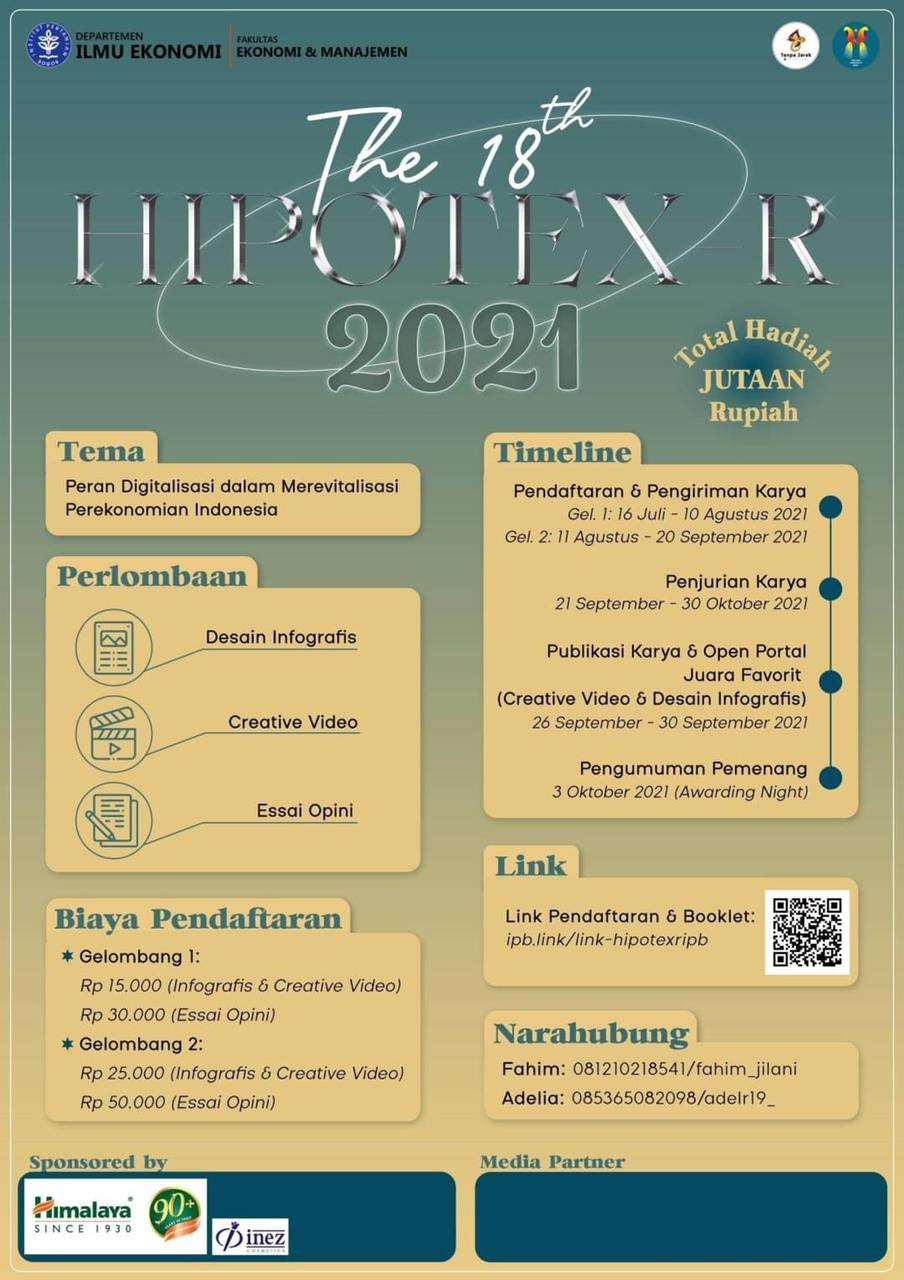 The 18th HIPOTEX-R 2021