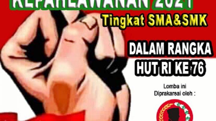 LOMBA PIDATO KEPAHLAWANAN TINGKAT SMA/SMK MENYAMBUT HUT RI KE 76