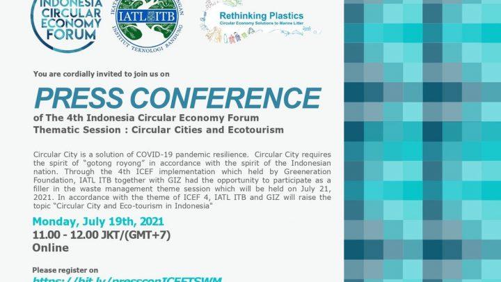 Undangan Press Conference TS Waste Management