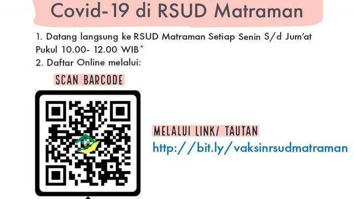 Vaksinasi COVID-19 – RSUD Matraman, Jakarta