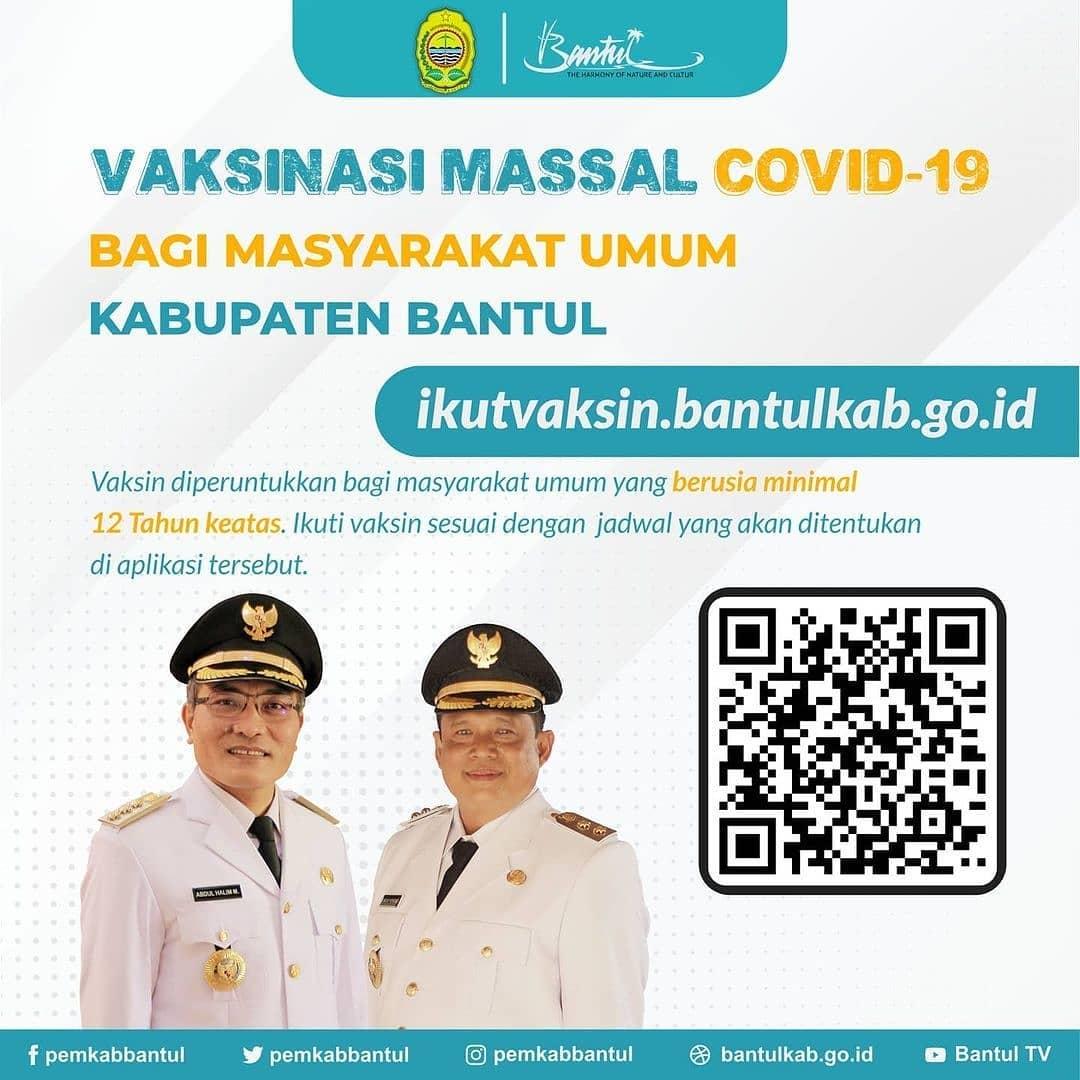 Vaksinasi Massal Covid-19 - Kota Bantul