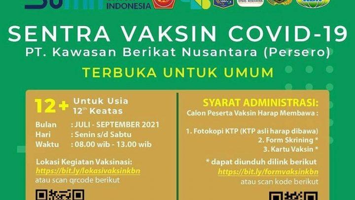 Vaksinasi PT. Kawasan Berikat Nusantara (Jakarta)