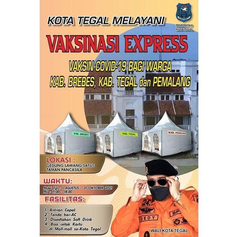 Vaksinasi Express Kota Tegal