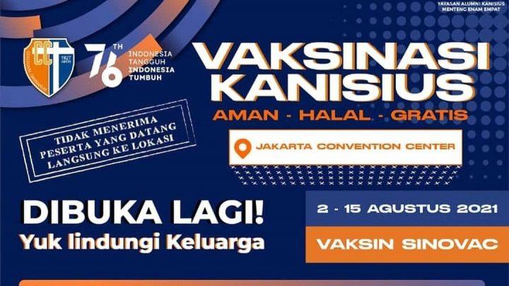 VAKSINASI KANISIUS – Jakarta