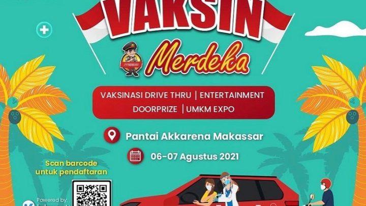 Vaksin Merdeka – Makassar