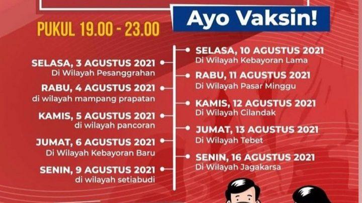 Vaksin On The Spot – Jakarta