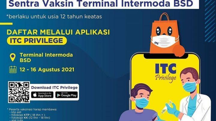Vaksinasi – Sentra Vaksin Terminal Intermoda BSD