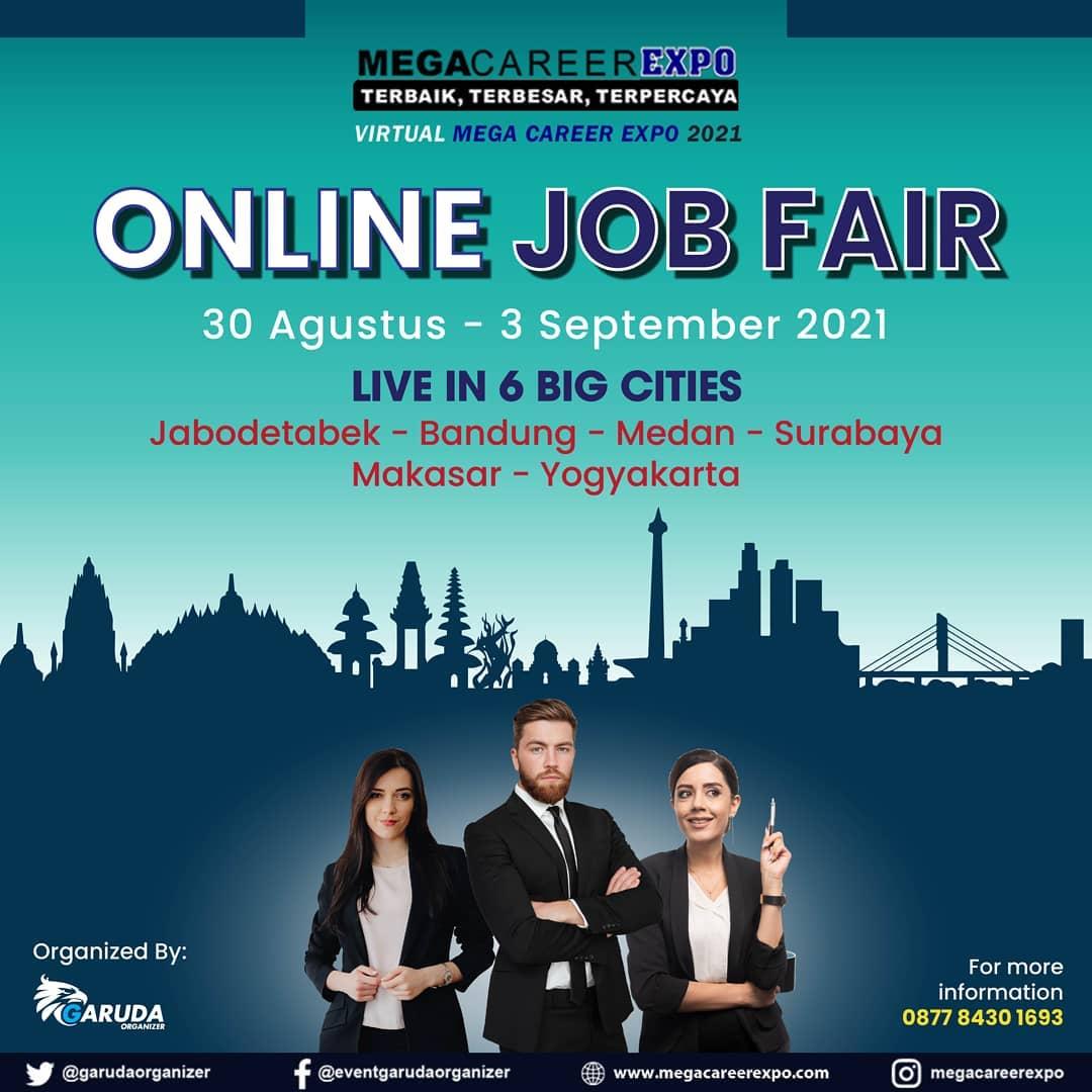 Virtual Mega Career Expo 2021 - Online Job Fair 6 Big Cities