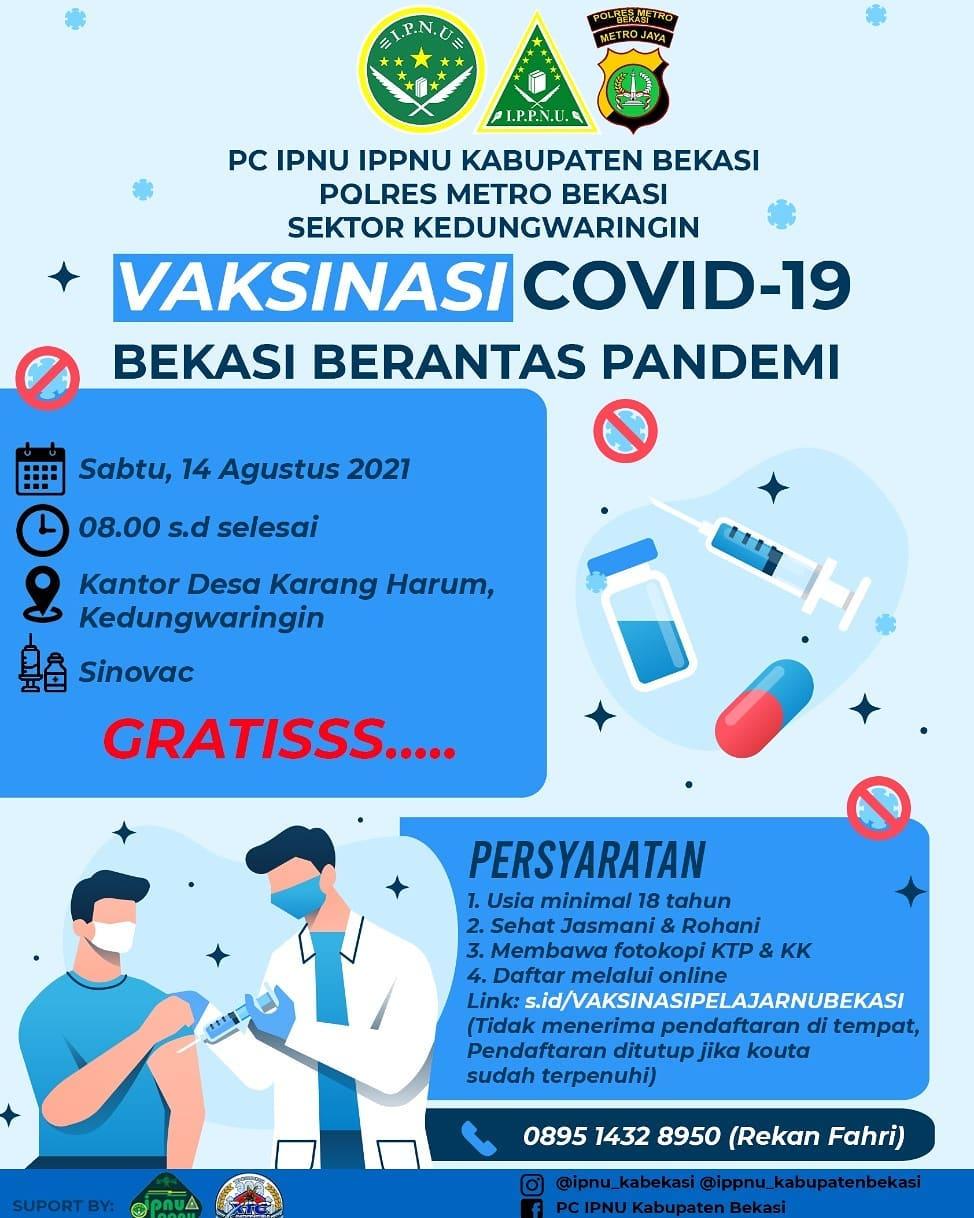 Vaksinasi Covid-19 Bekasi