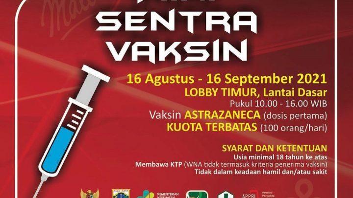 Mini Sentra Vaksin – Puri Indah Mall