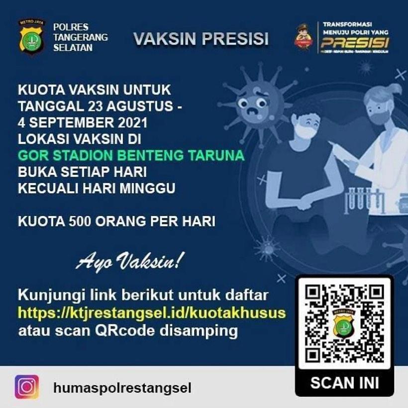 Vaksin Presisi - Tangerang Selatan