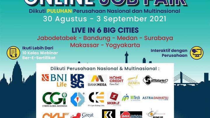 Virtual Mega Career Expo 2021 – Online Job Fair 6 Big Cities