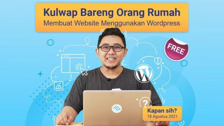 KulWap – Membuat Website Menggunakan WordPress