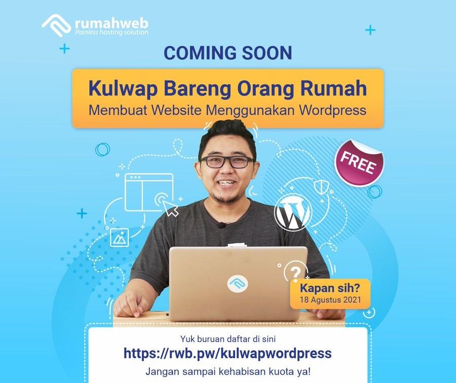 KulWap - Membuat Website Menggunakan WordPress