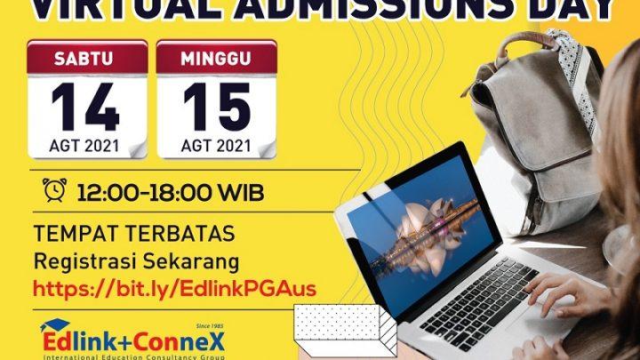 Pameran Postgraduate Study in Australia – Virtual Admissions Day