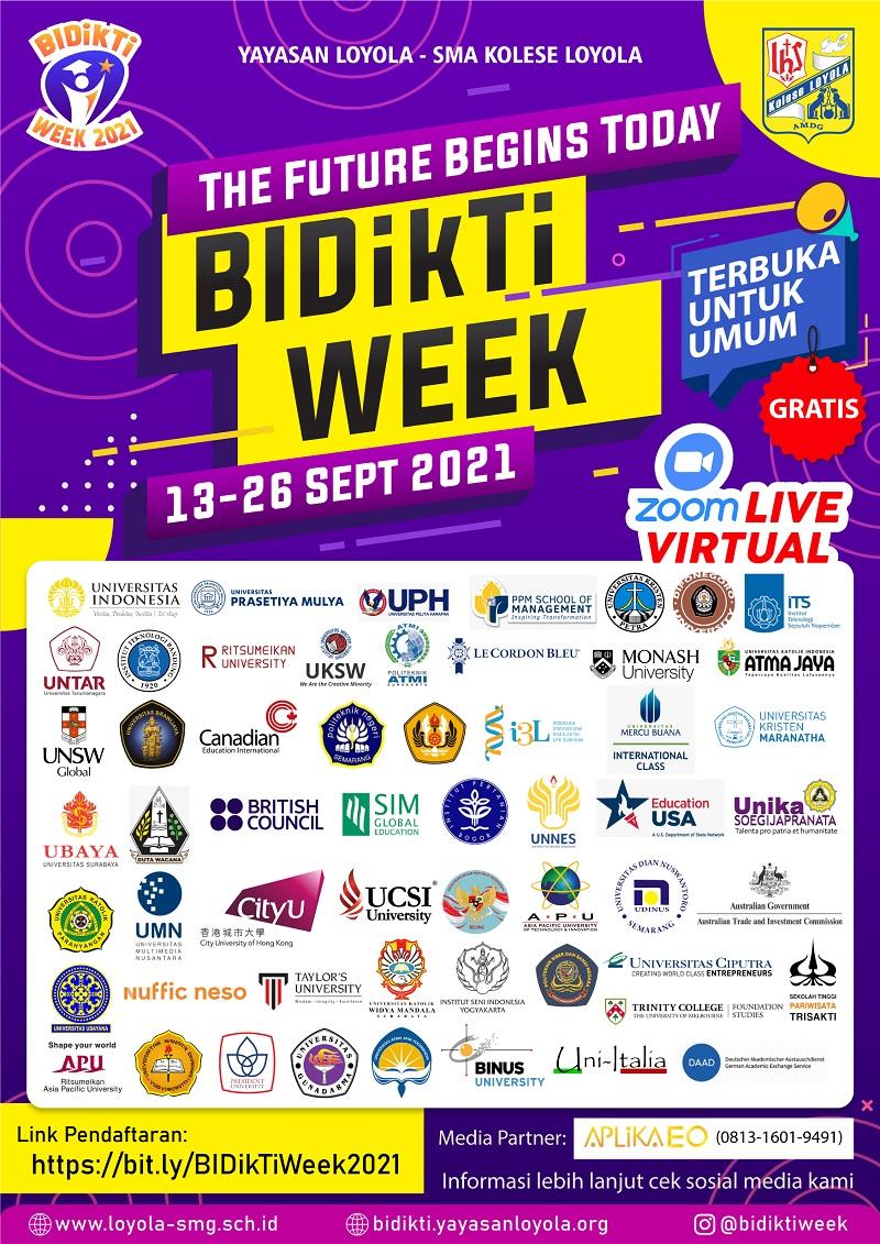 The Future Begins Today - BIDikTi Week 2021