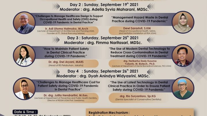 Dentistry Collaborative Updates 2021 – Occupational Health and Safety in Dental Technology Practice during Covid-19 Pandemic