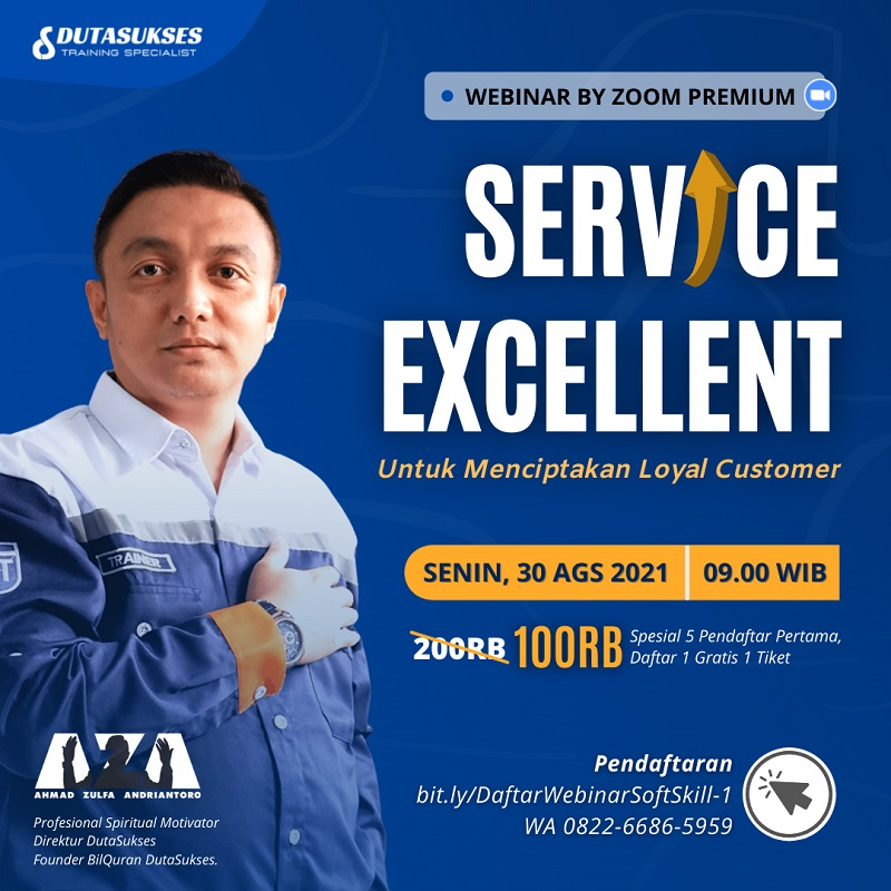 Service Excellent Untuk Menciptakan Loyal Customer