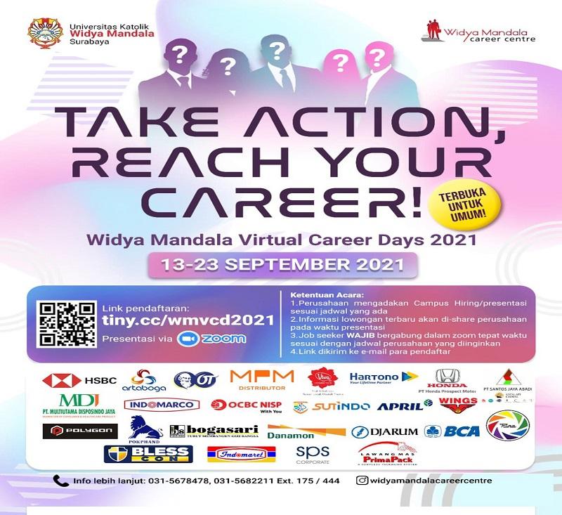 Widya Mandala Virtual Career Days 2021