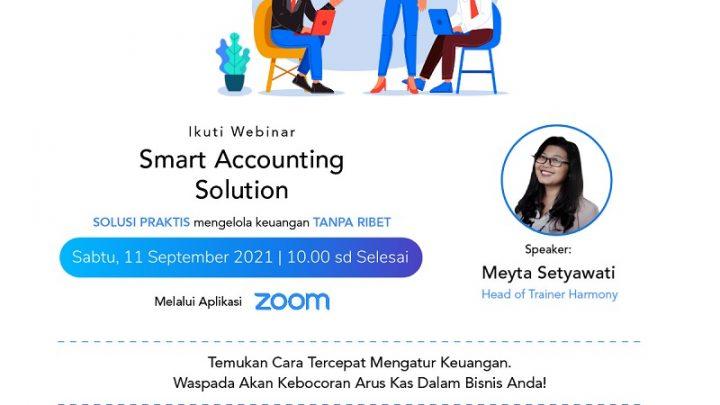 "[Free] Webinar ""Smart Accounting Solution"""