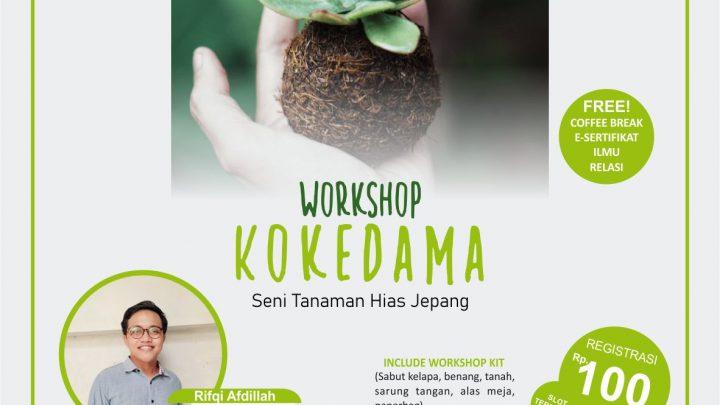 Workshop Kokedama (Seni Tanaman Hias Jepang)