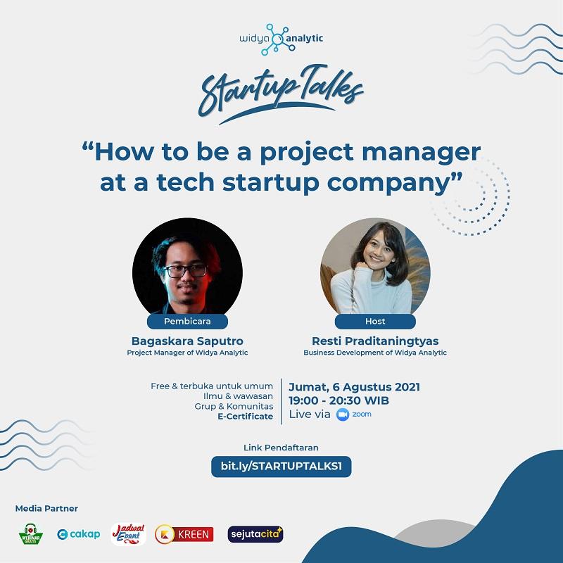 Cara menjadi Project Manager di Perusahaan Startup Teknologi