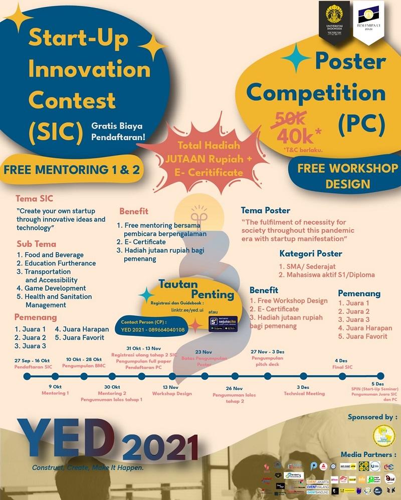Start-Up Innovation Contest YED UI