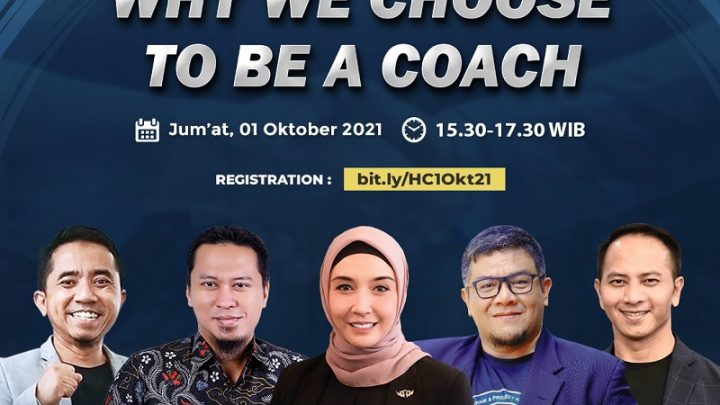 """Webinar Gratis """"Why We Choose To Be A Coach?"""""""