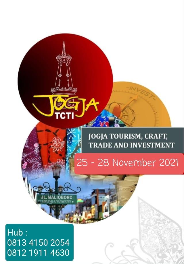 JOGJA TCTI 2021 - JOGJA TOURISM, CRAFT, TRADE & INVESTMENT