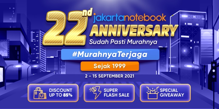 JakartaNotebook 22nd Anniversary