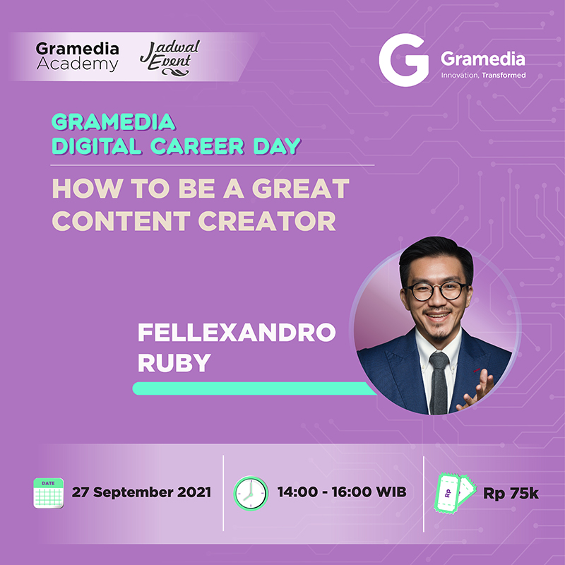 WEBINAR SERIES - How to be a Great Content Creator with Fellexandro Ruby