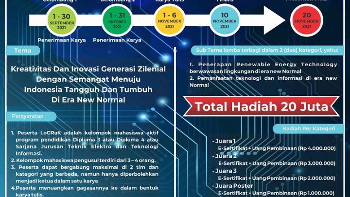 LOGRAK NASIONAL 2021 POLINEMA