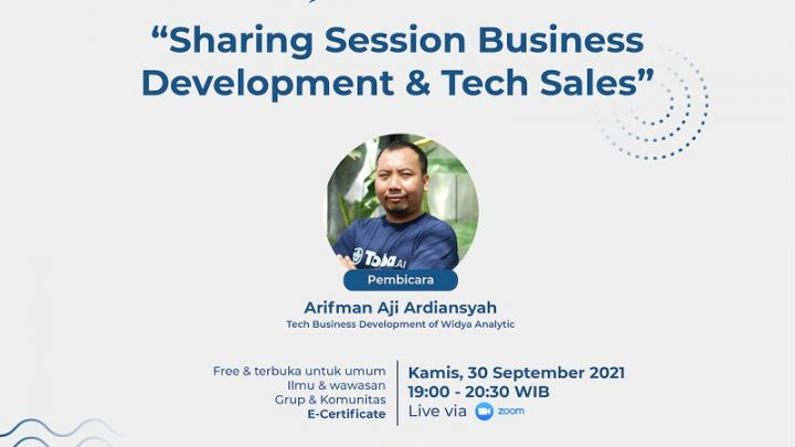 Sharing Session Business Development & Tech Sales