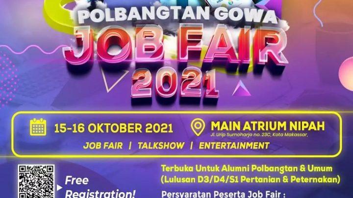 POLBANGTAN GOWA JOB FAIR 2021
