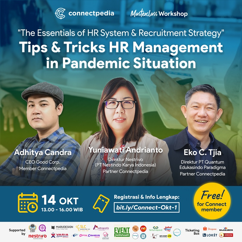 The Essentials of HR System & Recruitment Stategy: Tips & Tricks HR Management in Pandemic Situation