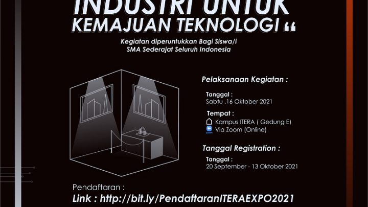 ITERA EXPO – Aktualisasi Smart Industri Untuk Kemajuan Teknologi