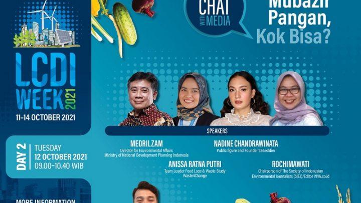 "Morning Chat With Media: ""Indonesia Mubazir Pangan, Kok Bisa?"""