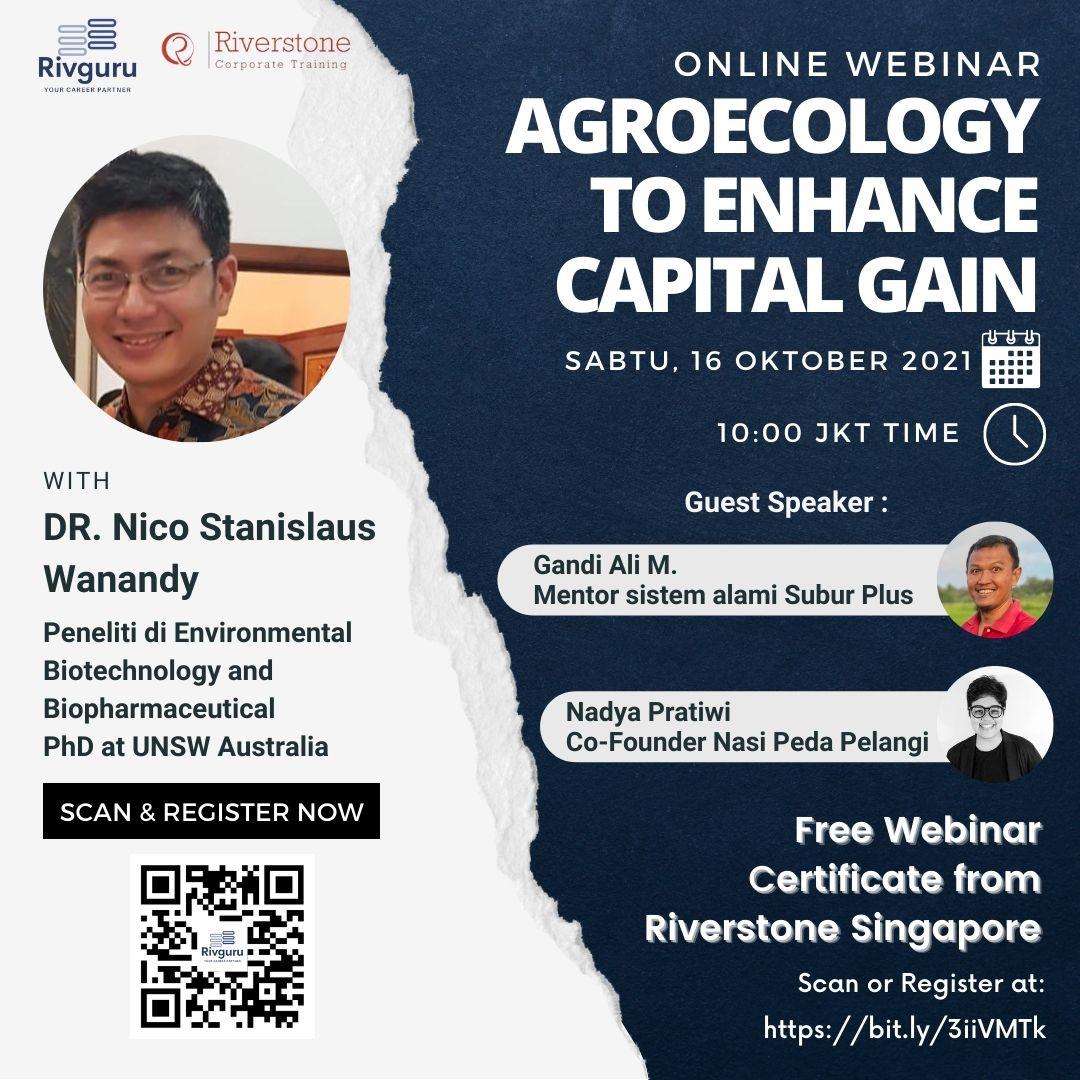 Webinar (AgroEcology to Enhance Capital Gain)