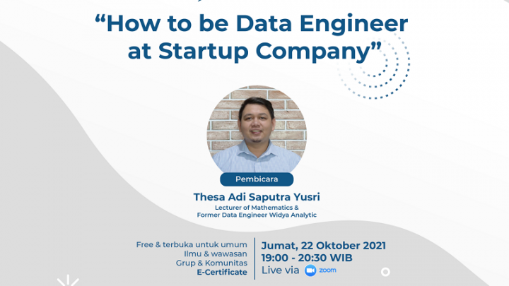 How to be Data Engineer at Startup Company